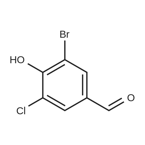 3-Bromo-5-chloro-4-hydroxybenzaldehyde