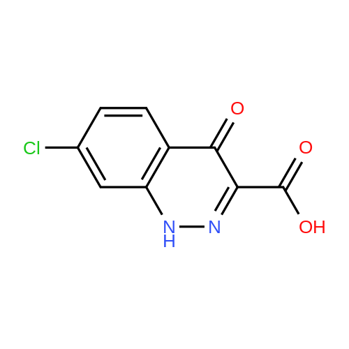 7-Chloro-4-oxo-1,4-dihydrocinnoline-3-carboxylic acid