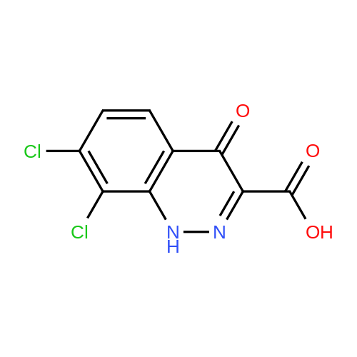 7,8-Dichloro-4-oxo-1,4-dihydrocinnoline-3-carboxylic acid