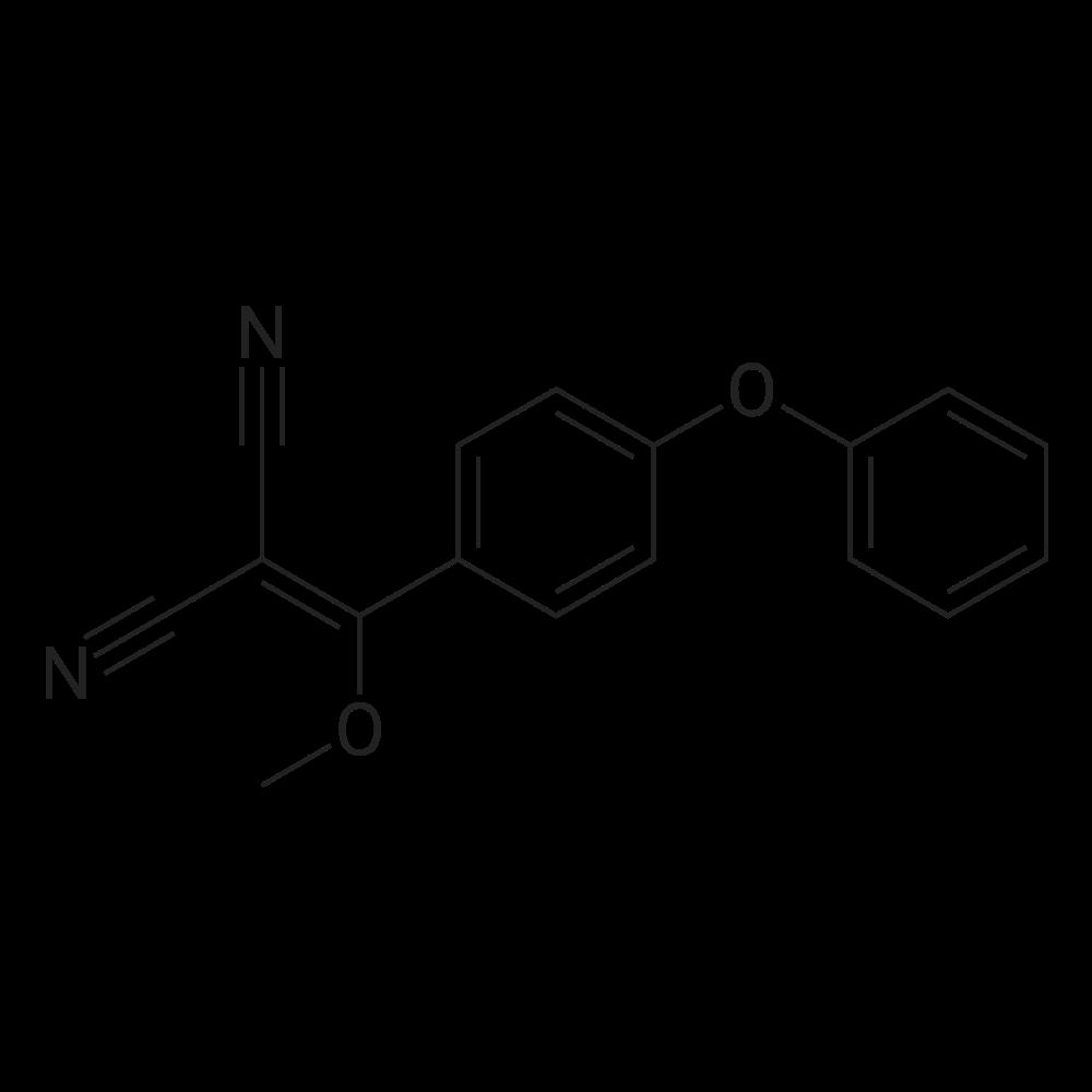 2-(Methoxy(4-phenoxyphenyl)methylene)malononitrile
