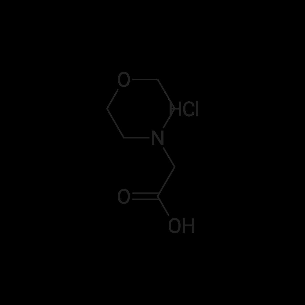 2-Morpholinoacetic acid hydrochloride
