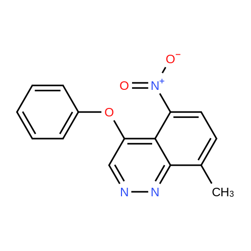 8-Methyl-5-nitro-4-phenoxycinnoline