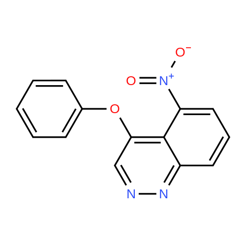 5-Nitro-4-phenoxycinnoline