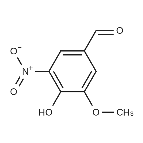 4-Hydroxy-3-methoxy-5-nitrobenzaldehyde