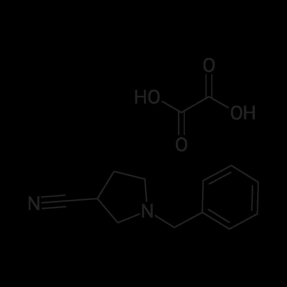 1-Benzylpyrrolidine-3-carbonitrile oxalate