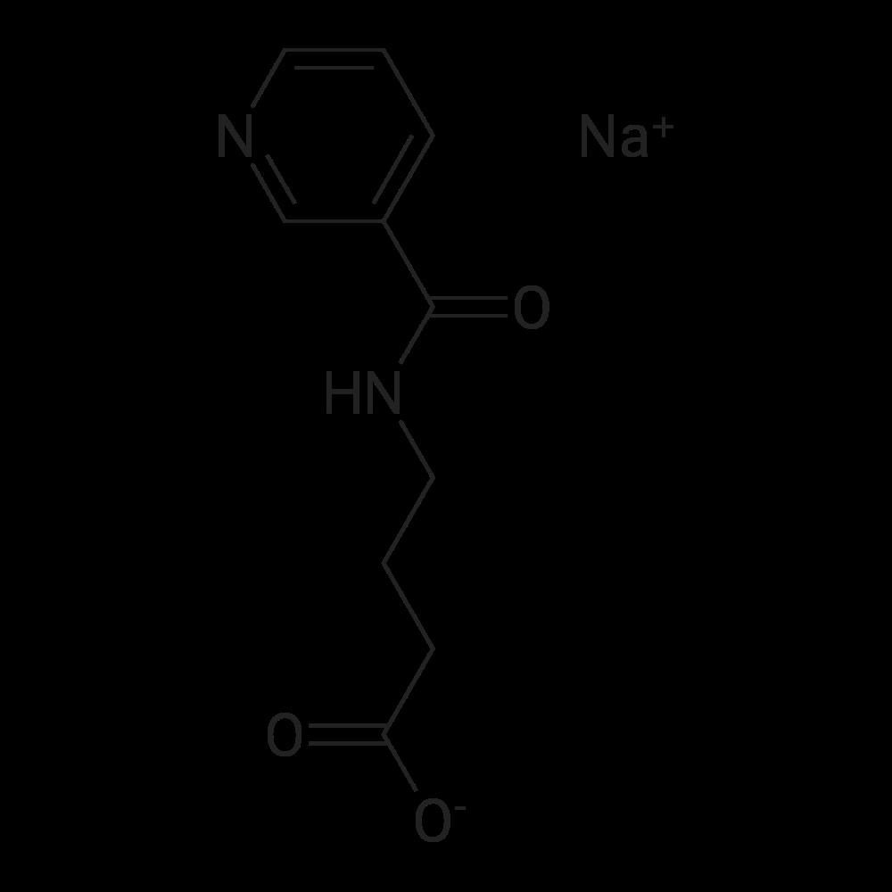 Sodium 4-(nicotinamido)butanoate
