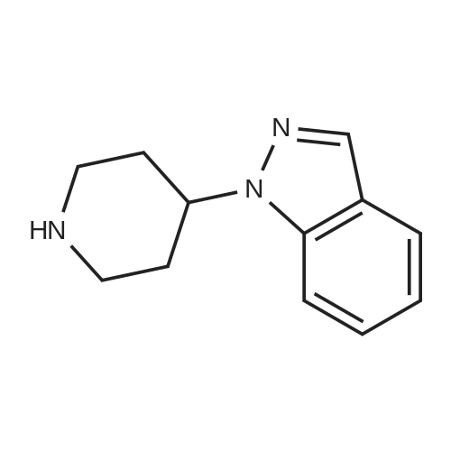 1-(Piperidin-4-yl)-1H-indazole