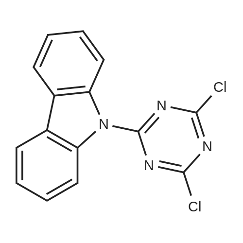 9-(4,6-Dichloro-1,3,5-triazin-2-yl)-9H-carbazole