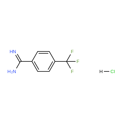 4-(Trifluoromethyl)benzimidamide hydrochloride