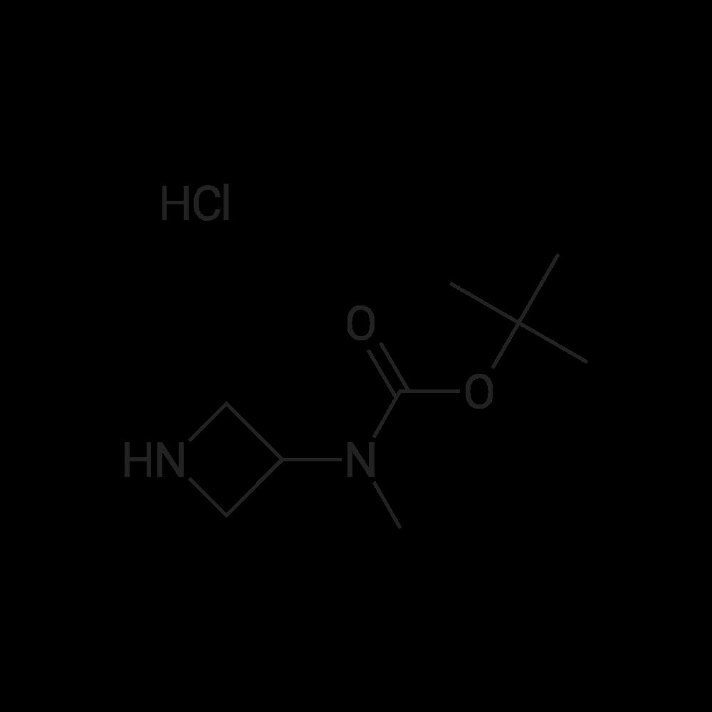 tert-Butyl azetidin-3-yl(methyl)carbamate hydrochloride