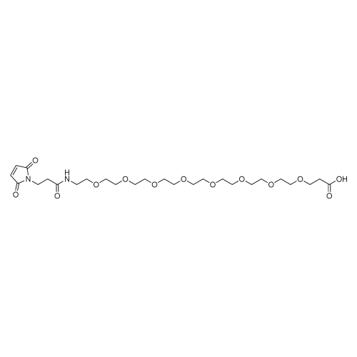 1-(2,5-Dioxo-2,5-dihydro-1H-pyrrol-1-yl)-3-oxo-7,10,13,16,19,22,25,28-octaoxa-4-azahentriacontan-31-oic acid