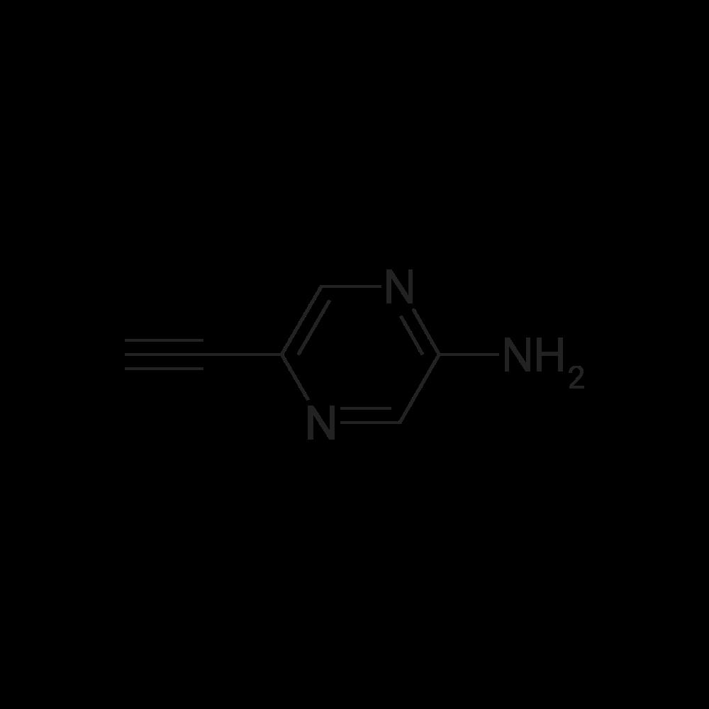 5-Ethynylpyrazin-2-amine