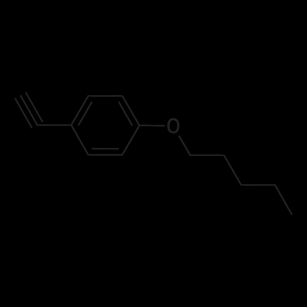 1-Eth-1-ynyl-4-(pentyloxy)benzene