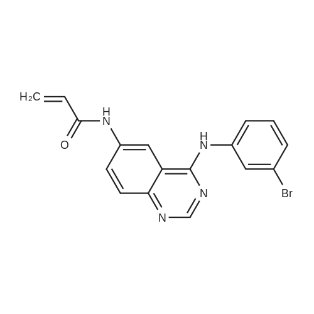 N-(4-((3-Bromophenyl)amino)quinazolin-6-yl)acrylamide