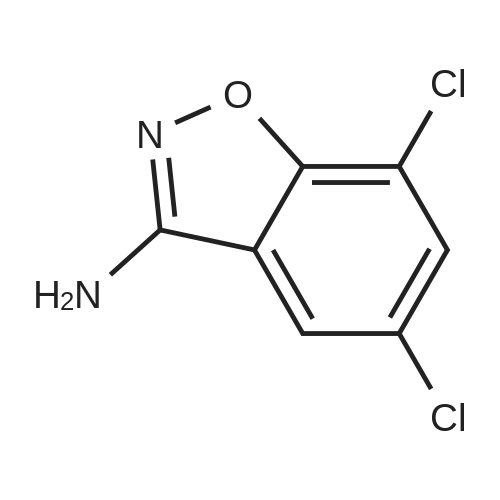 5,7-Dichlorobenzo[d]isoxazol-3-amine
