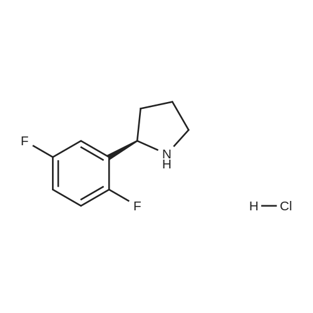 (R)-2-(2,5-Difluorophenyl)pyrrolidine hydrochloride