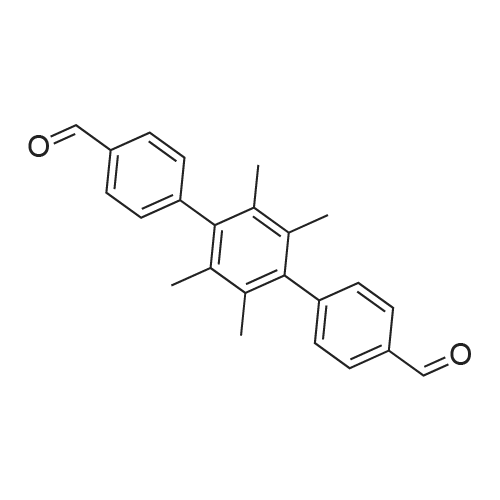 2',3',5',6'-Tetramethyl-[1,1':4',1''-terphenyl]-4,4''-dicarbaldehyde