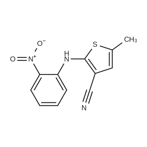 5-Methyl-2-((2-nitrophenyl)amino)thiophene-3-carbonitrile