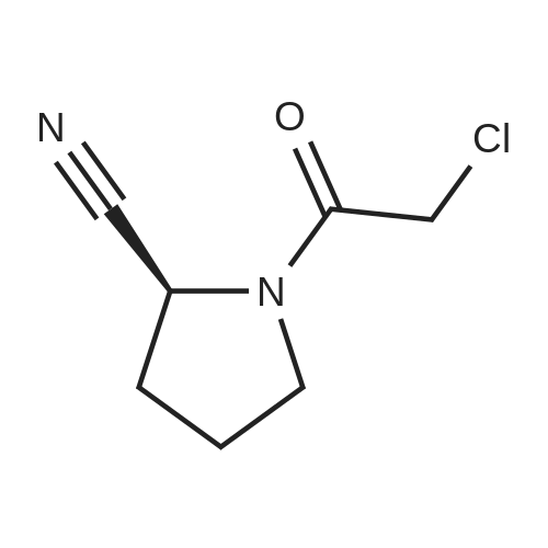 (S)-1-(2-Chloroacetyl)pyrrolidine-2-carbonitrile