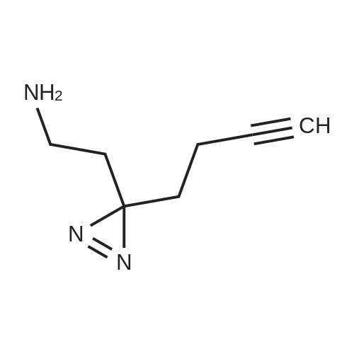 2-(3-(But-3-yn-1-yl)-3H-diazirin-3-yl)ethan-1-amine
