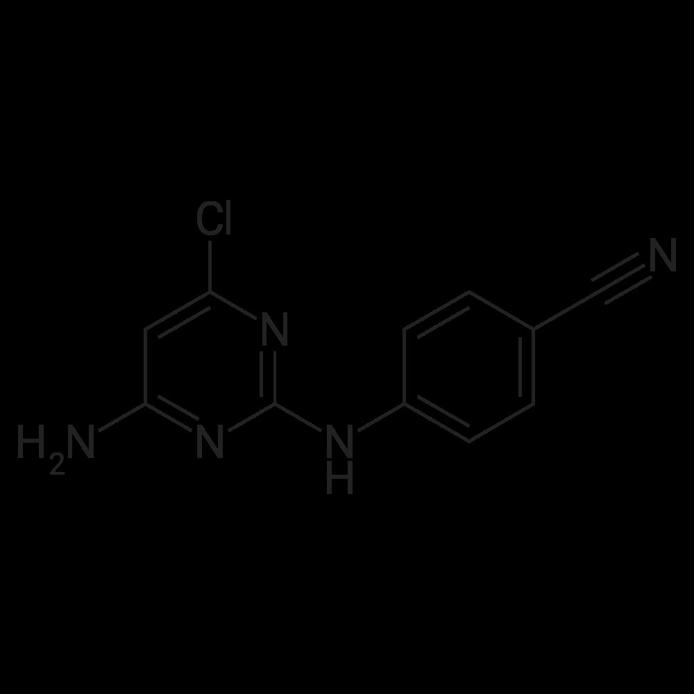 4-((4-Amino-6-chloropyrimidin-2-yl)amino)benzonitrile