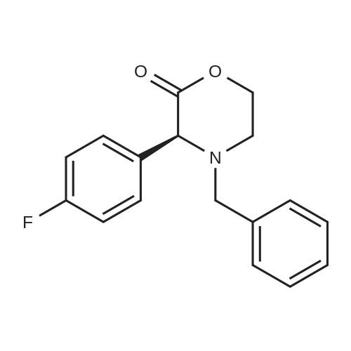 (S)-4-Benzyl-3-(4-fluorophenyl)morpholin-2-one