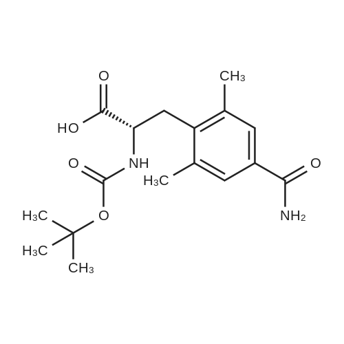 (S)-2-((tert-Butoxycarbonyl)amino)-3-(4-carbamoyl-2,6-dimethylphenyl)propanoic acid