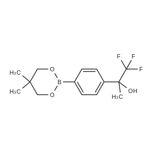 2-(4-(5,5-Dimethyl-1,3,2-dioxaborinan-2-yl)phenyl)-1,1,1-trifluoropropan-2-ol