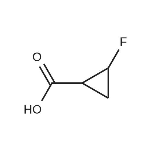 2-Fluorocyclopropanecarboxylic acid