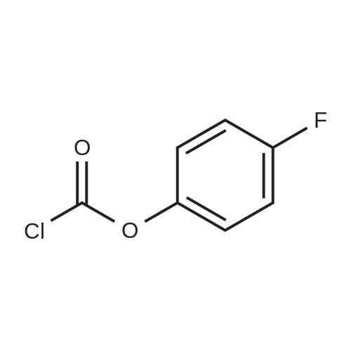 4-Fluorophenyl carbonochloridate