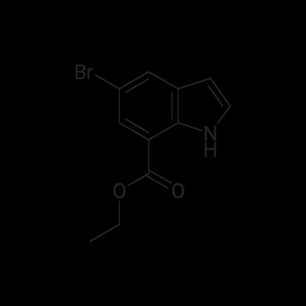 Ethyl 5-bromo-1H-indole-7-carboxylate