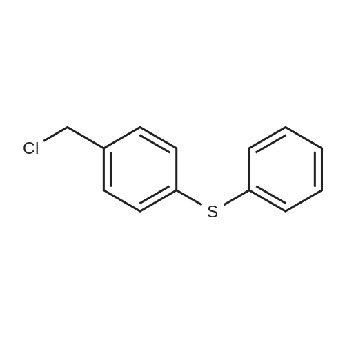 (4-(Chloromethyl)phenyl)(phenyl)sulfane