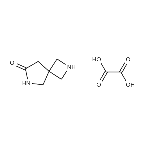 2,6-Diazaspiro[3.4]octan-7-one oxalate