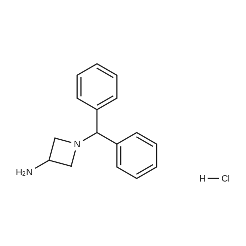 1-Benzhydrylazetidin-3-amine hydrochloride