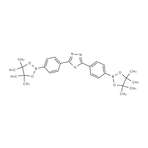 2,5-Bis(4-(4,4,5,5-tetramethyl-1,3,2-dioxaborolan-2-yl)phenyl)-1,3,4-oxadiazole