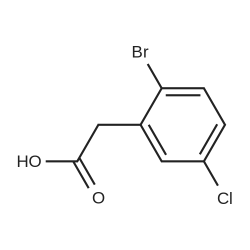 2-(2-Bromo-5-chlorophenyl)acetic acid