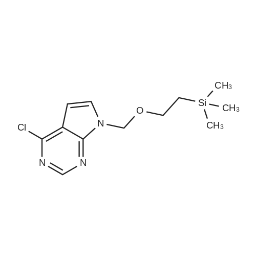 4-Chloro-7-((2-(trimethylsilyl)ethoxy)methyl)-7H-pyrrolo[2,3-d]pyrimidine