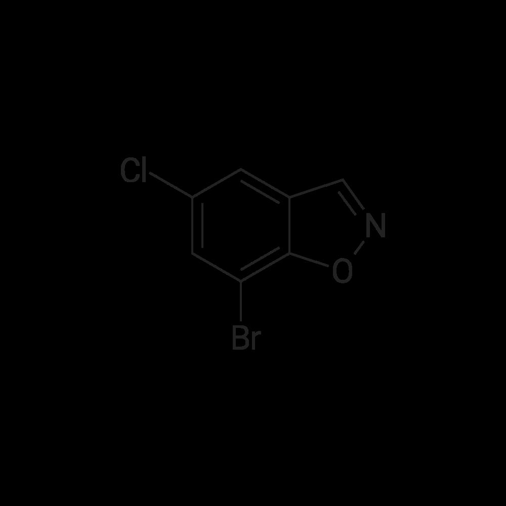 7-Bromo-5-chlorobenzo[d]isoxazole