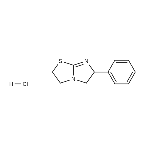 6-Phenyl-2,3,5,6-tetrahydroimidazo[2,1-b]thiazole hydrochloride