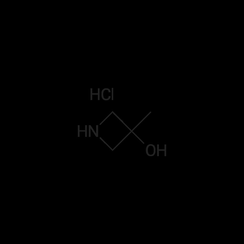 3-Methylazetidin-3-ol hydrochloride