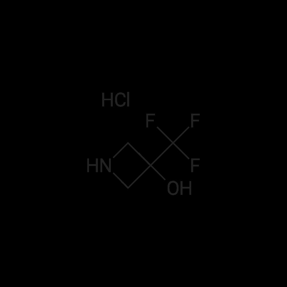 3-(Trifluoromethyl)azetidin-3-ol hydrochloride
