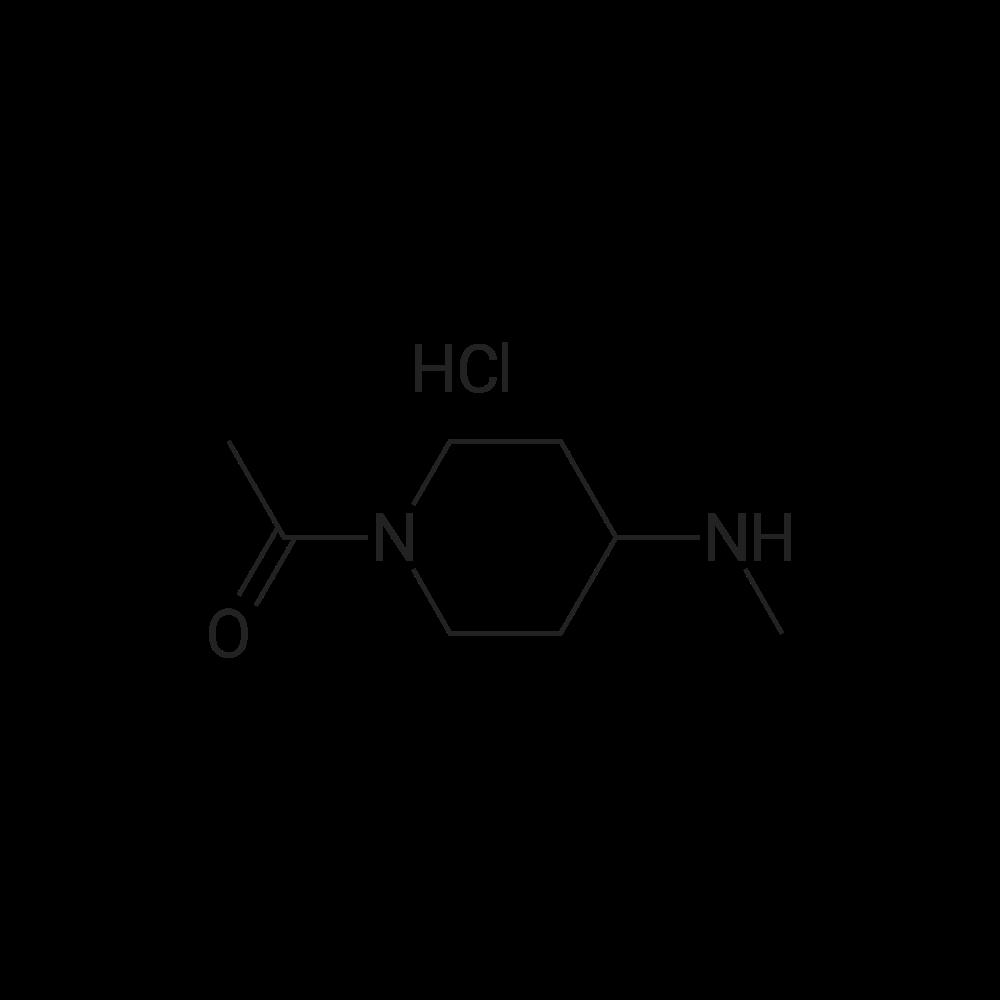 1-(4-(Methylamino)piperidin-1-yl)ethanone hydrochloride