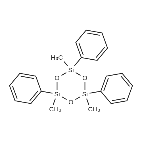 2,4,6-Trimethyl-2,4,6-triphenyl-1,3,5,2,4,6-trioxatrisilinane(mixture of tetramer)