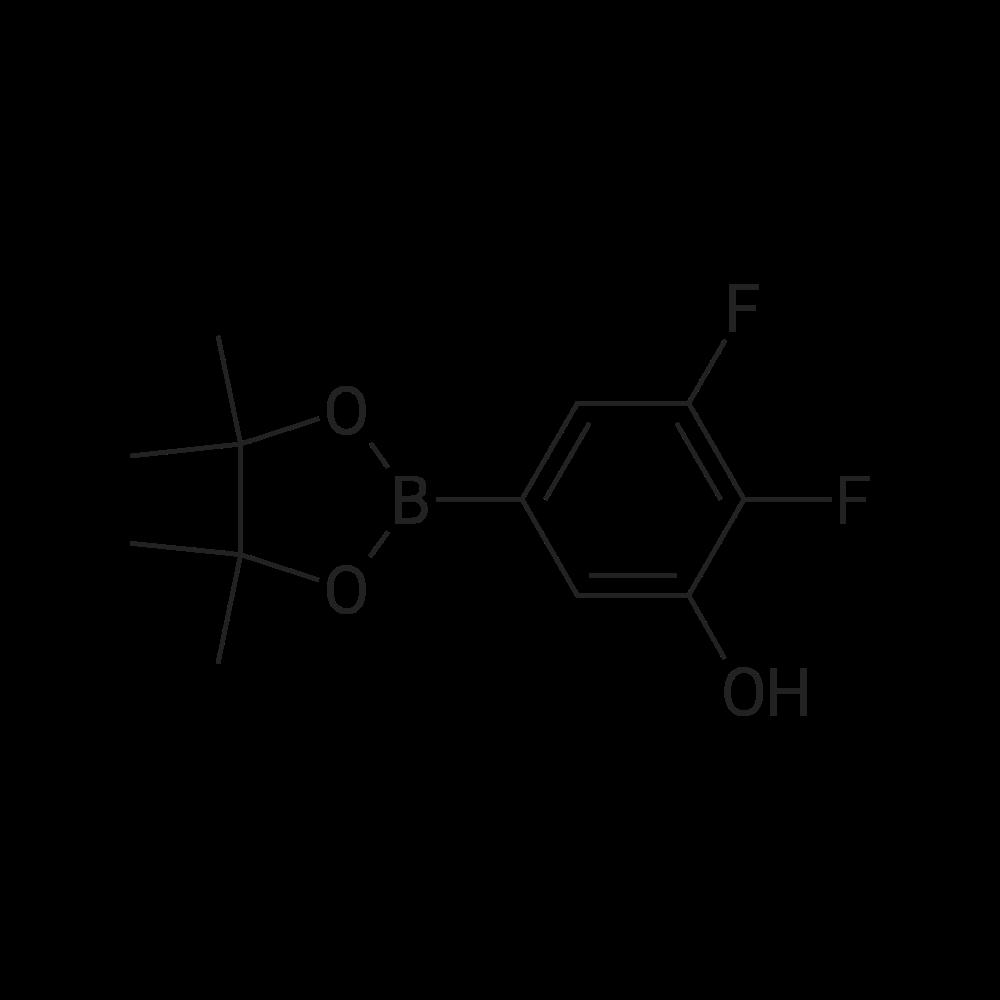 2,3-Difluoro-5-(4,4,5,5-tetramethyl-1,3,2-dioxaborolan-2-yl)phenol