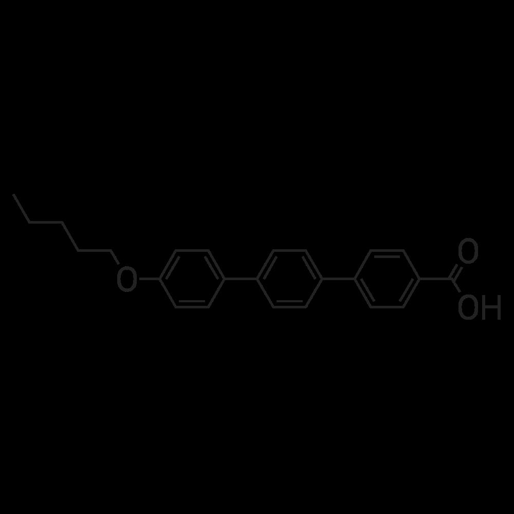 4''-(Pentyloxy)-[1,1':4',1''-terphenyl]-4-carboxylic acid