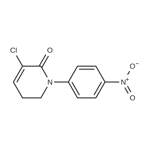3-Chloro-1-(4-nitrophenyl)-5,6-dihydropyridin-2(1H)-one