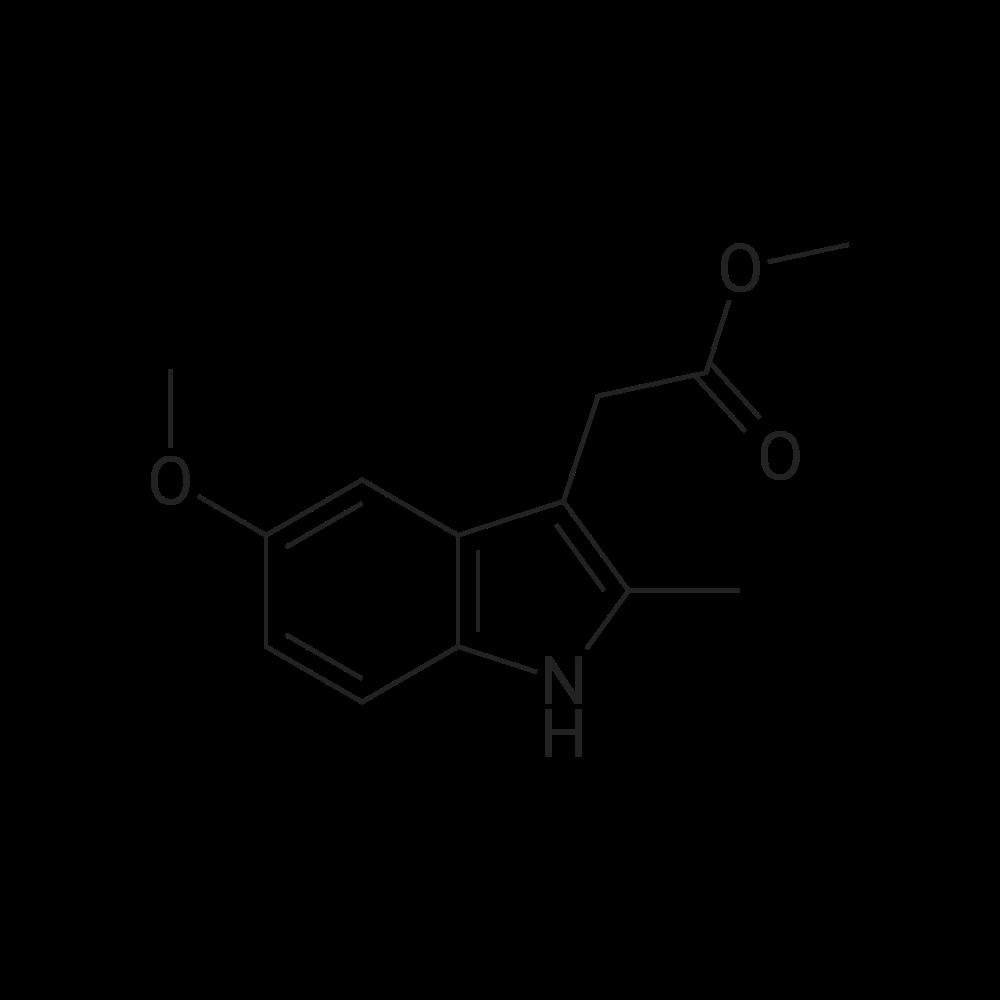 Methyl 2-(5-methoxy-2-methyl-1H-indol-3-yl)acetate