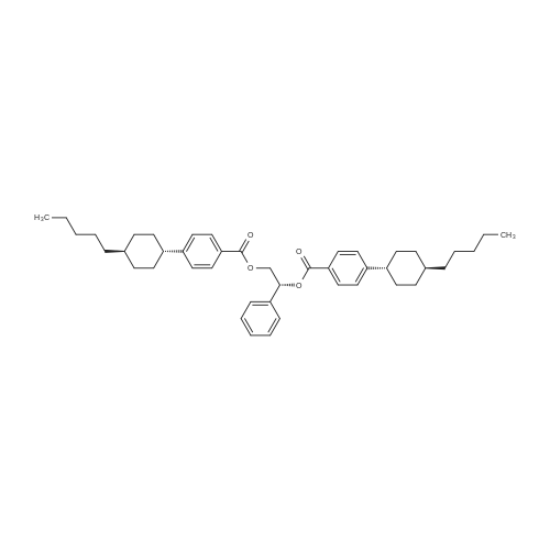 (R)-1-Phenylethane-1,2-diyl bis(4-((trans-4-pentylcyclohexyl)benzoate)