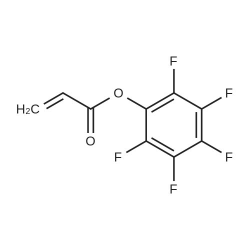 Perfluorophenyl acrylate