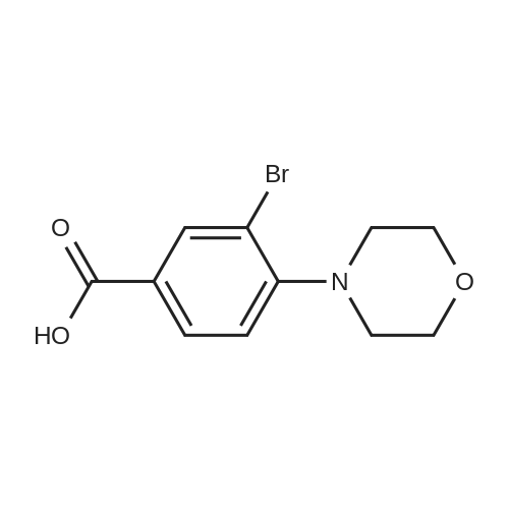 3-Bromo-4-morpholinobenzoic acid